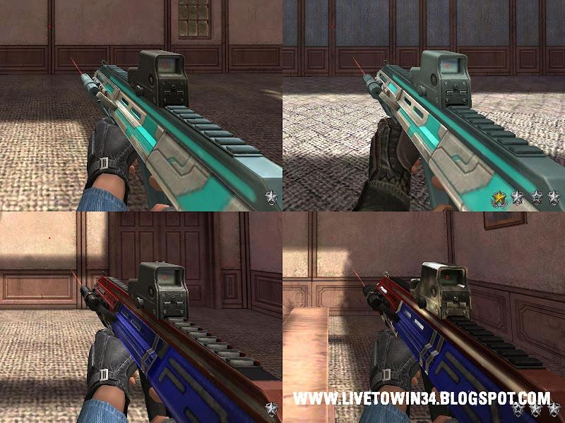 Скриншоты бракованных AUG Blaze и AUG PBIC