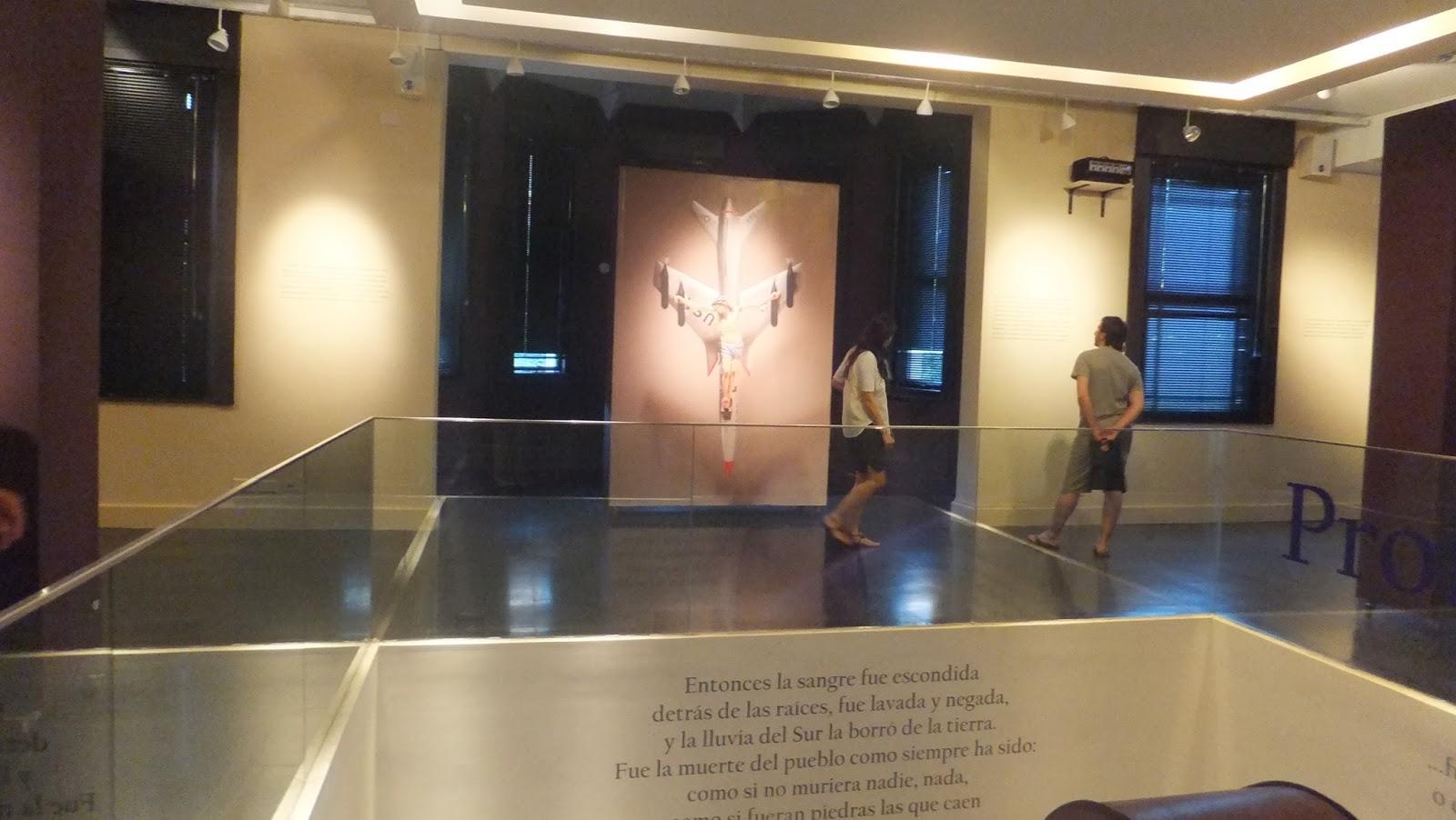León Ferrari, Museo de la Memoria, Rosario, Argentina, Elisa N, Blog de Viajes, Lifestyle, Travel