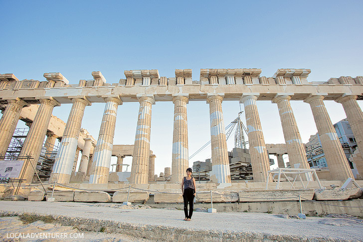 The Parthenon Greece.