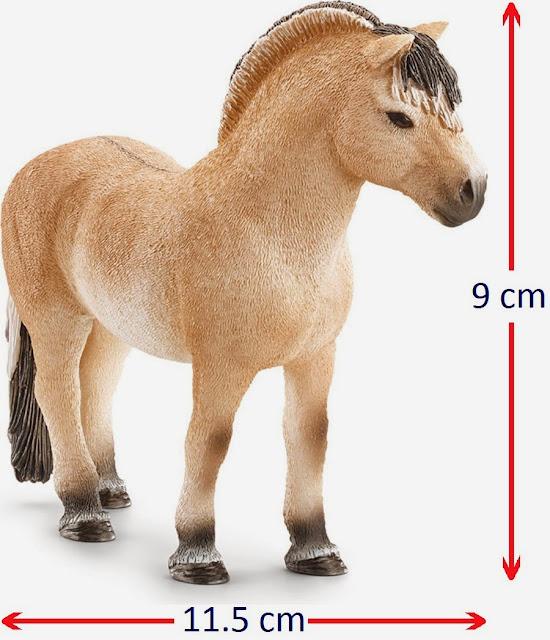 Đồ chơi Mô hình Ngựa Fjord đực - Pjord Horse Stallion nhỏ xinh