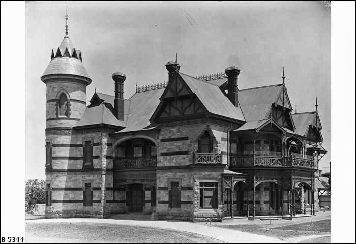 Carclew, on Strangways Terrace 1897 B5344