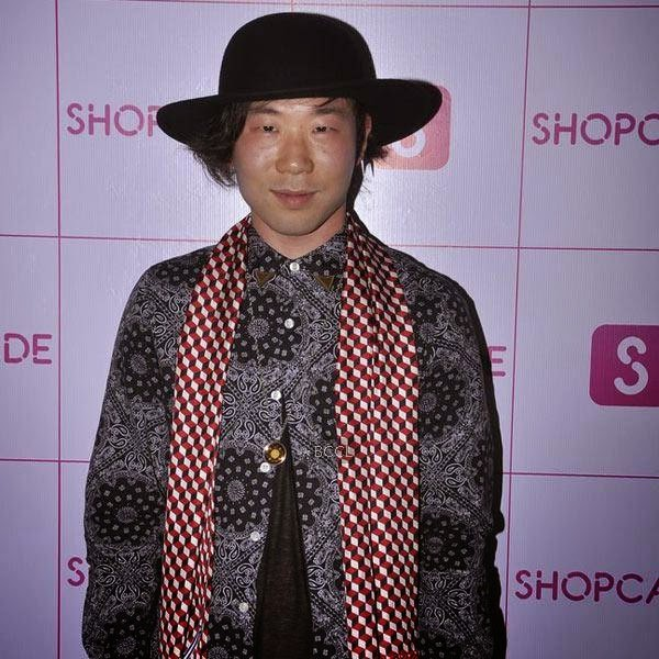 A guest arrives for the launch party of Shopcade, a social online application for fashion, held at White Owl, on July 10, 2014.(Pic: Viral Bhayani)