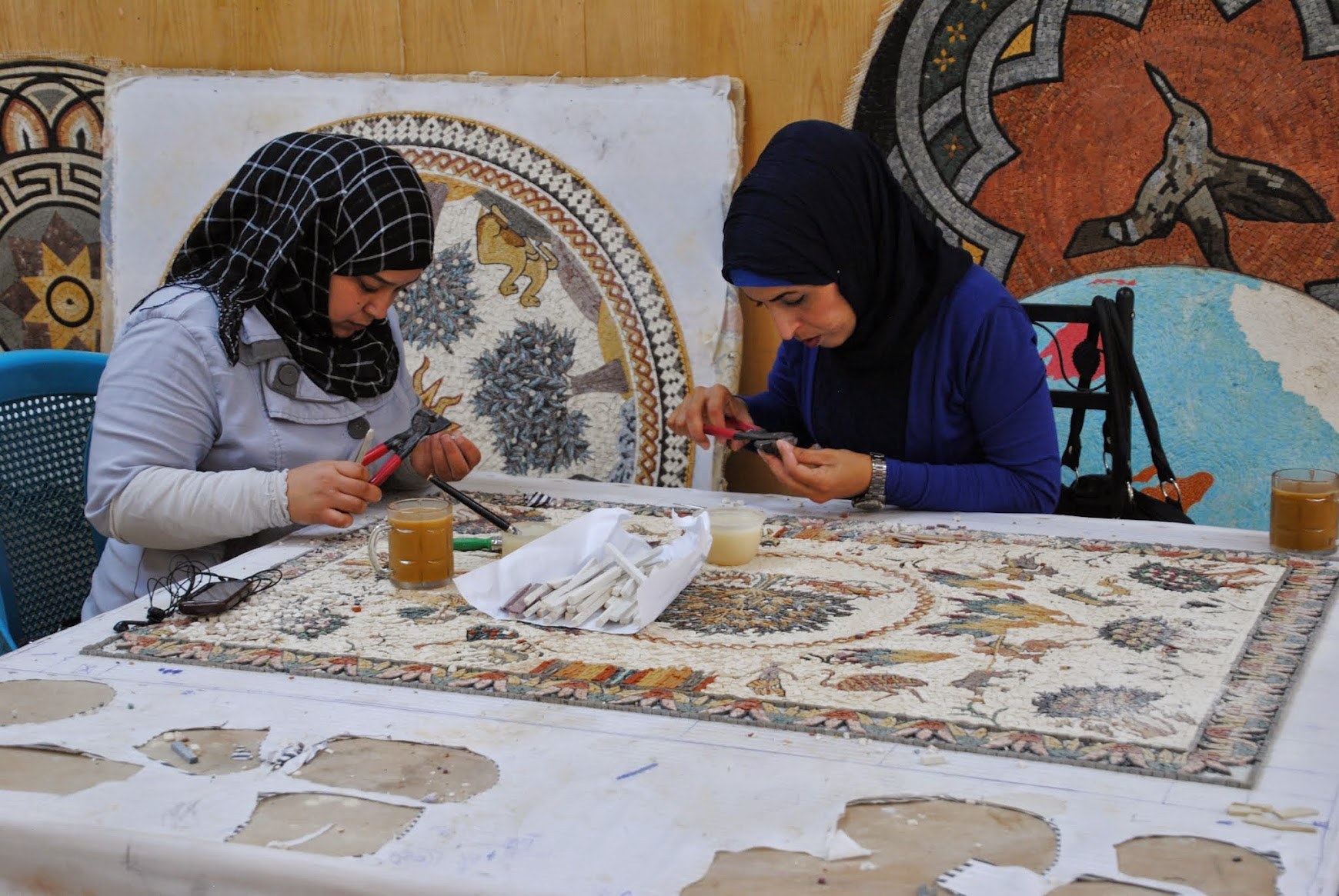 My Photos: Jordan -- Madaba -- Mosaic School