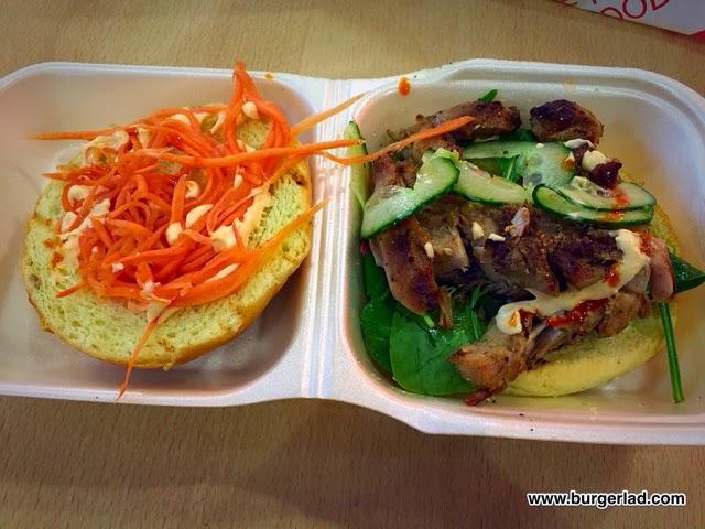 Viet Shack Lemongrass Chicken Burger