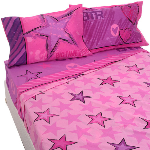 Inspiração estrelas - lençol e fronha