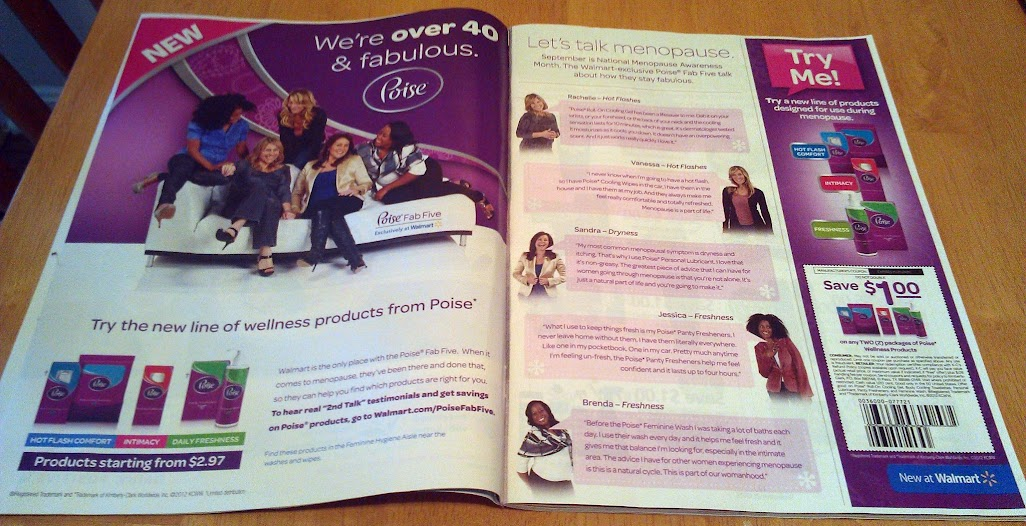 Menopause Awareness Month #PoiseFab5