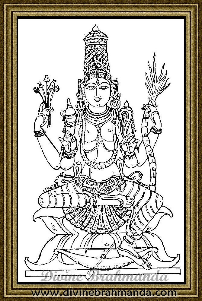 Soundarya Lahari Sloka, Yantra & Goddess To Recovery From Health Problems - 58