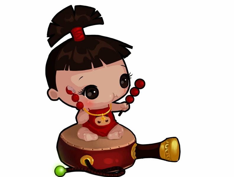 Loạt hình chibi dễ thương của các võ tướng Củ Hành - Ảnh 5