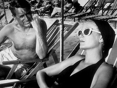 scene met Grace Kelly en Cary Grant uit To Catch a Thief