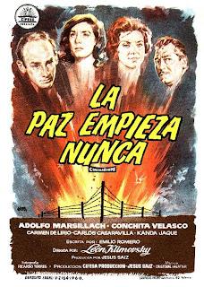 La paz empieza nunca (1960) | Caratula | Cine clásico, imagen