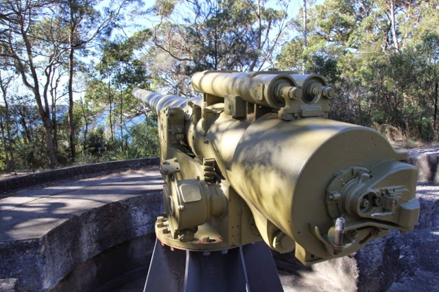 Gun at George's Head fort