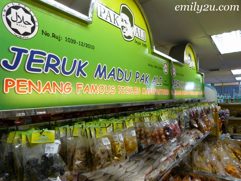 Penang pickles
