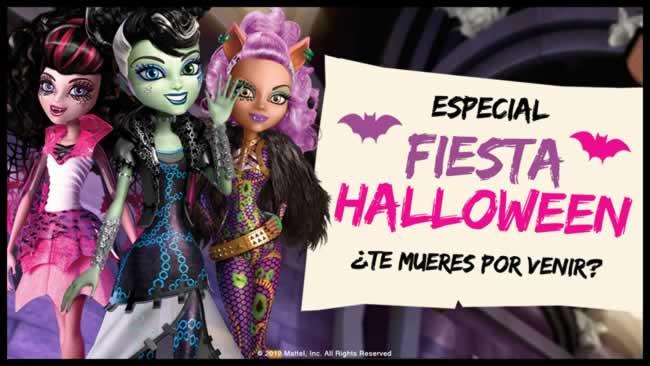 Mattel celebrará una superfiesta de Halloween el 3 de noviembre, en Barcelona (España)