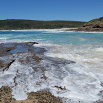 Water on rocks at Snapper Point beach (247783)