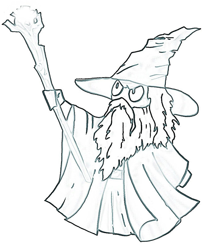 hobbit character coloring pages - photo#14