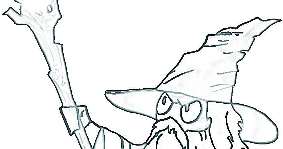 Gandalf The Hobbit Coloring Pages