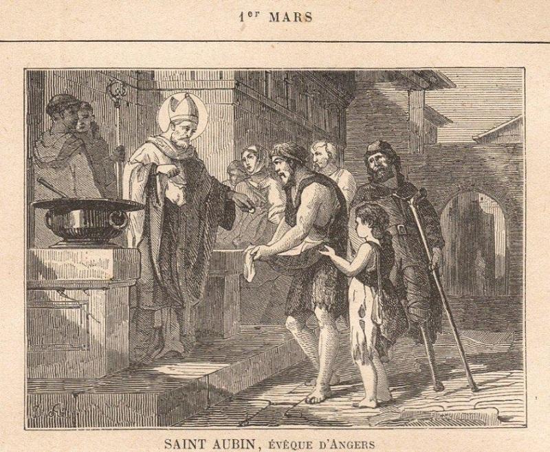 """Résultat de recherche d'images pour """"Icône de Saint Aubin, évêque d'Angers"""""""