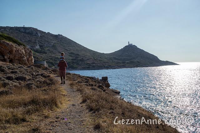 Akdeniz ve Ege'nin birleştiği Knidos antik kentinde dolaşırken