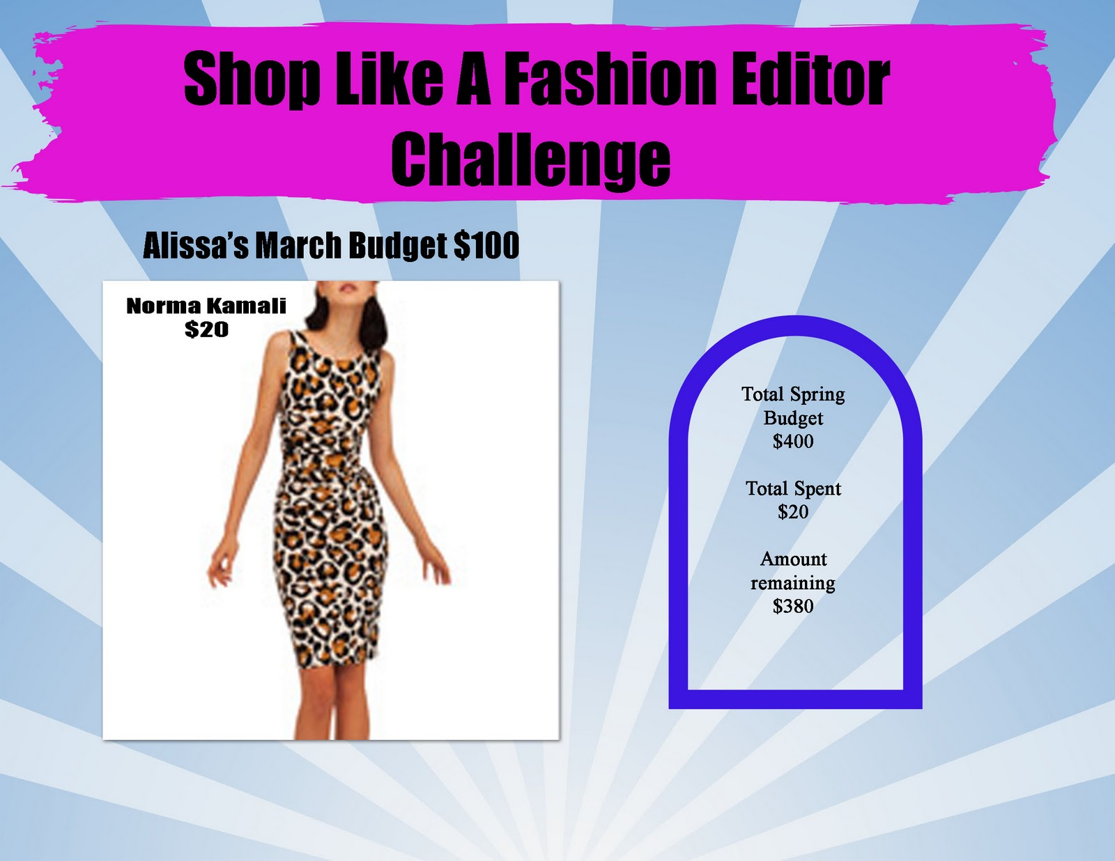 Alissa Takes Instyle Magazine S Shop Like A Fashion Editor Challenge Stylish Curves