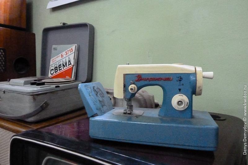 Детская швейная машинка для девочек