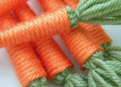 Creative ideas for your home - Page 2 Yarn+Carrots+4
