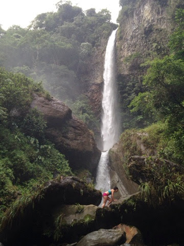 waterfall, south america, Baños, Cuenca
