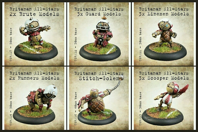 Tor Gaming Stitchpunks Blood bowl