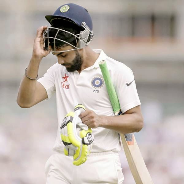 India hadn't added a run to their overnight score, and eight runs later MS Dhoni was sent back in the same fashion. Wickets continued to tumble even as Rahane compiled a half-century.