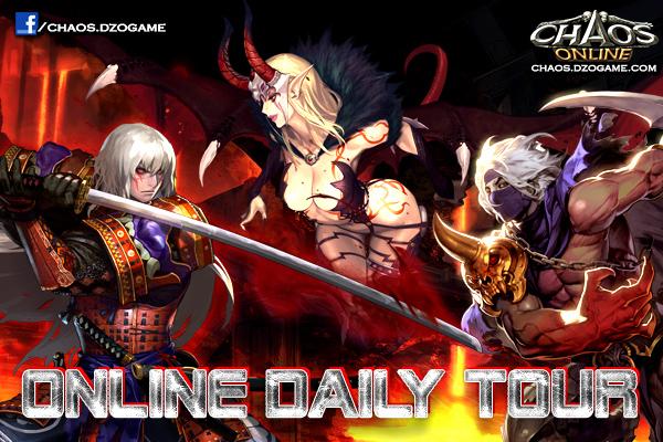 Chaos Online khởi động Daily Tournament 1