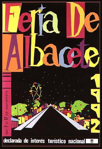 Cartel Feria Albacete 1992