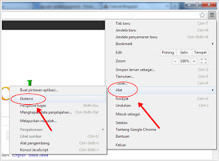 Chrome,extensi,pengaya