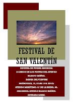 Cartel del Festival de San Valentín