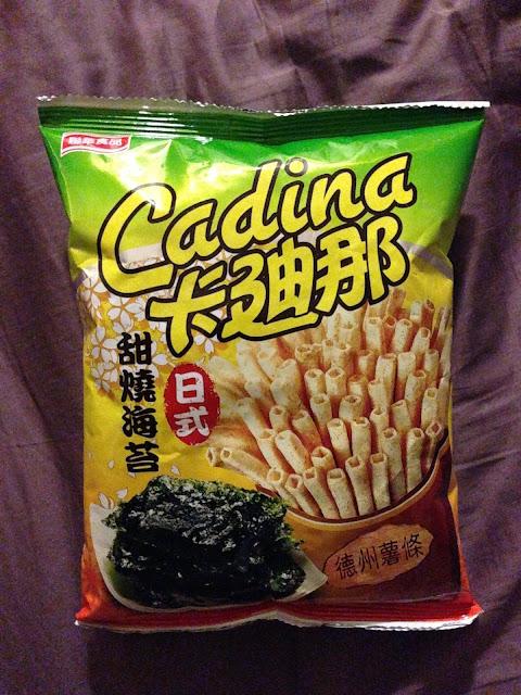 聯華 - 卡迪那 - 德州薯條 - 日式甜燒海苔