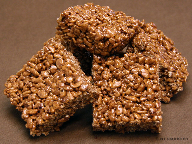 Cocoa Krispies Treats