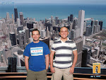 Our official photo at the Sears Tower