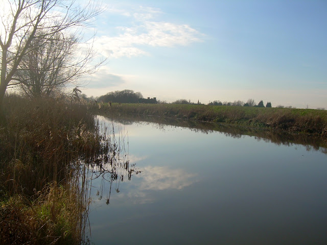 The RIver Lark near Prickwillow