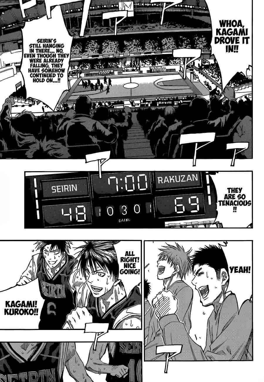 Kuroko no Basket Manga Chapter 249 - Image 06