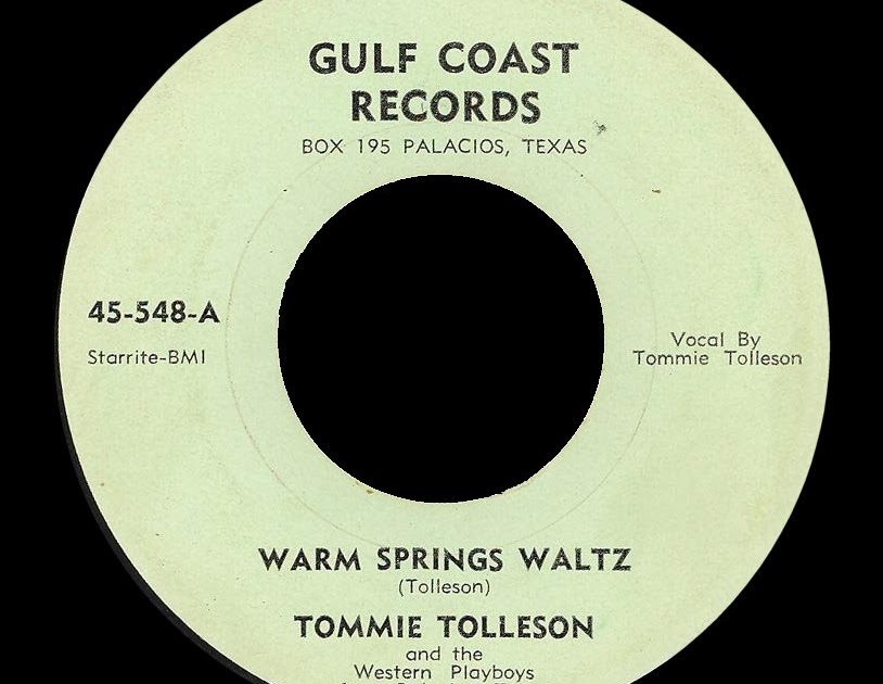 Tommie Tolleson - The Palacios Waltz