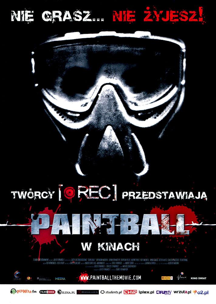 Ulotka filmu 'Paintball (przód)'