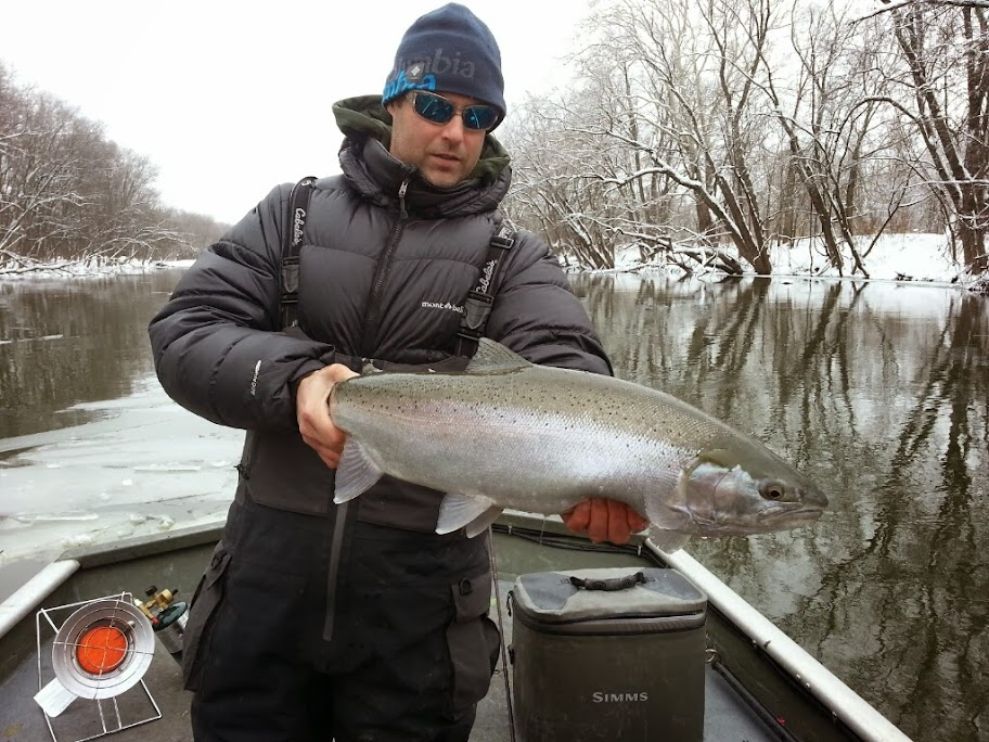 Muskegon River Steelhead Fishing Guide Service