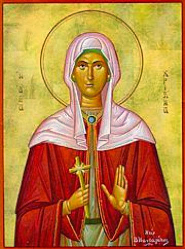Christina The Great Martyr Of Tyre