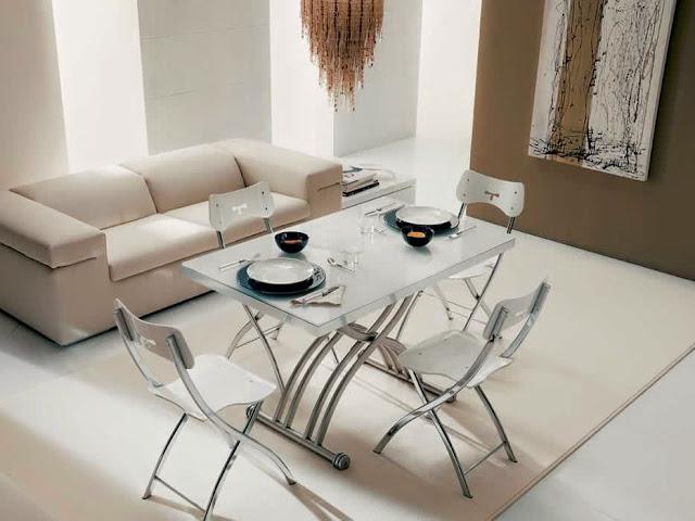 table basse transformable light ozzio