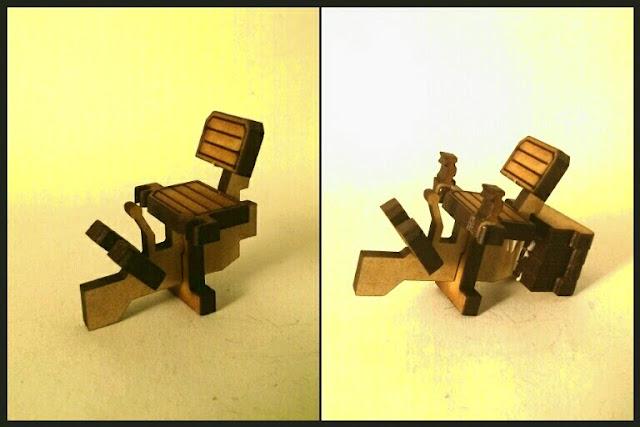 construcción del toro de miniature Scenery parte 1