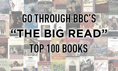 Go through the BBC - The Big Read - Top 100 Books