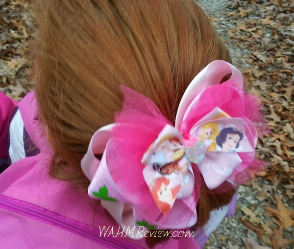 Monkey, my 5 yo loved her princess hair bow.