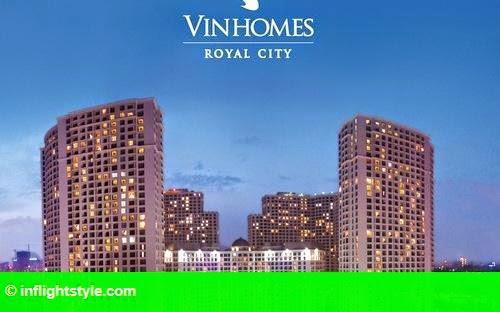 Hình 1: Căn hộ Vinhomes Royal City hút khách nước ngoài