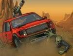لعبة سيارة دعس الزومبي 2