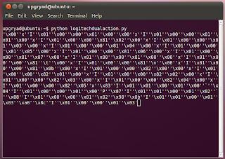 Logitech Dual Action USB Gamepad Interface Using Python
