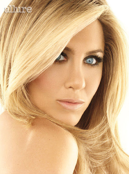 Jennifer Aniston na Allure - Brigitte Bardot