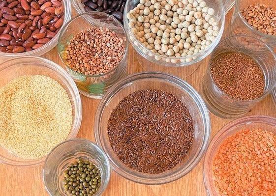Pegue as sementes